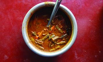 Sambar (South Indian Vegetable Stew)