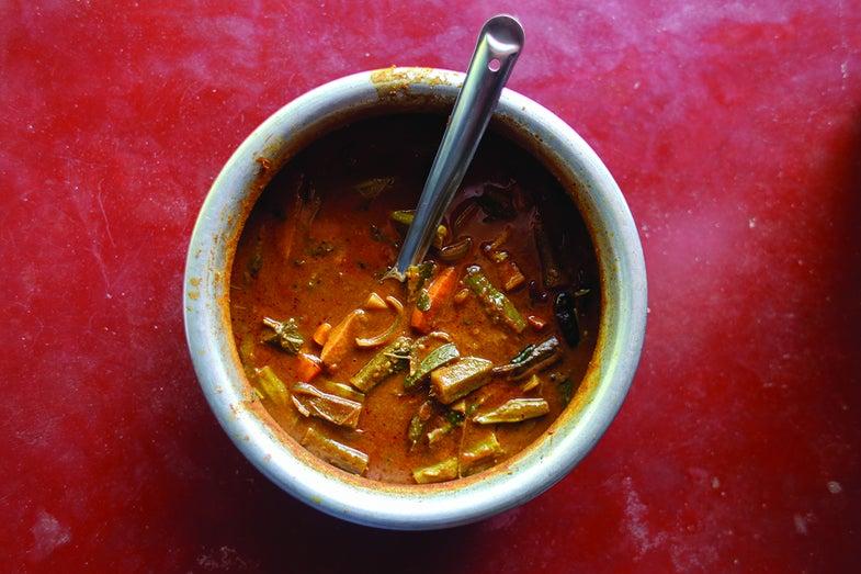 South Indian Vegetable Stew (Sambar)