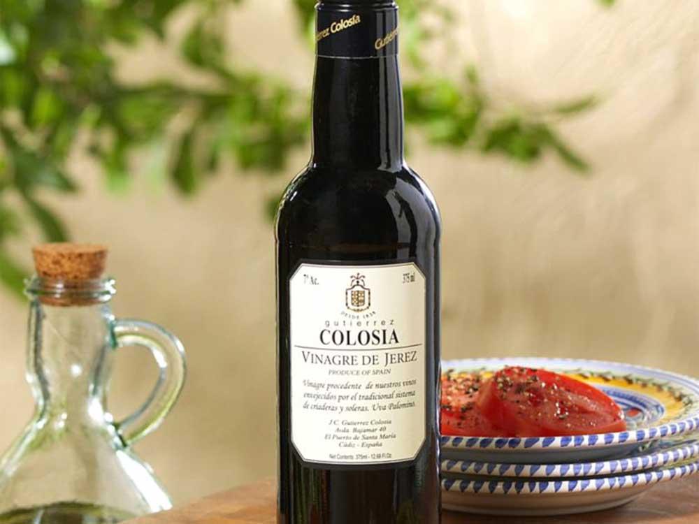Fruity sherry vinegar from Gutierrez Colosia