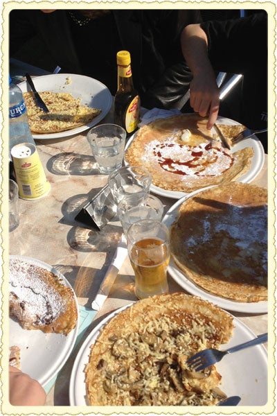Postcard: Dutch Pancakes in Amsterdam