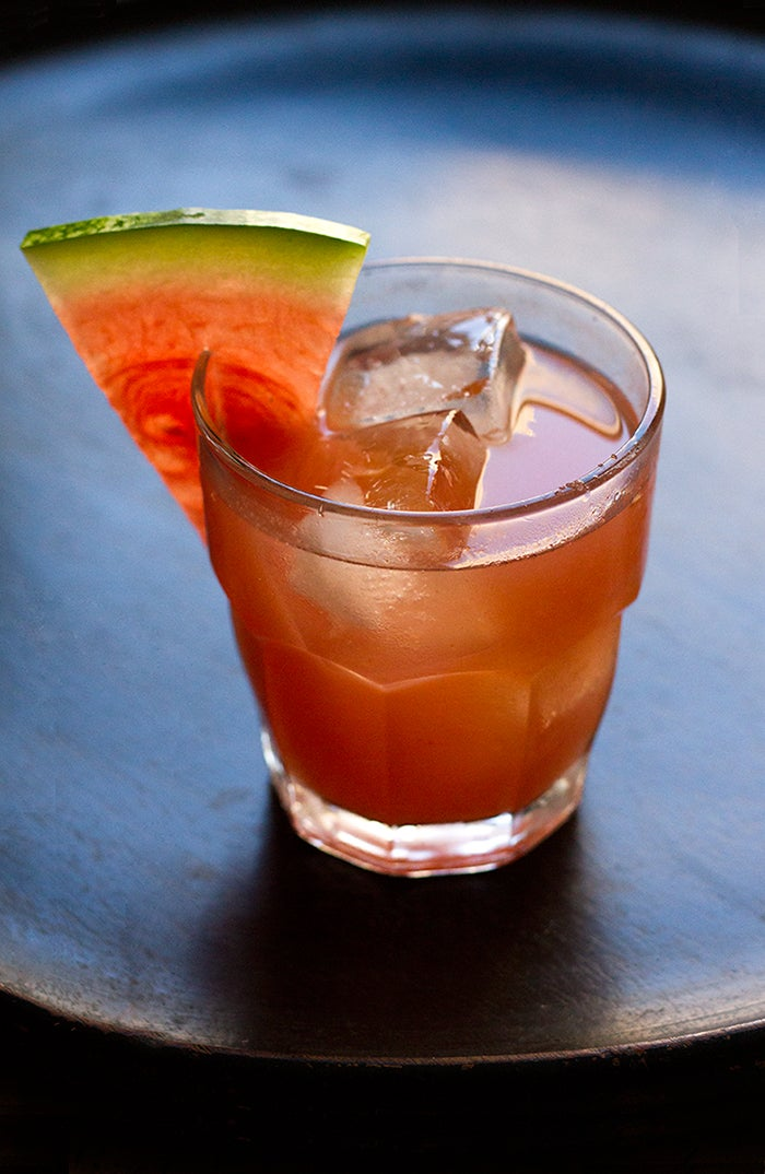 Red Lady Watermelon Cocktail