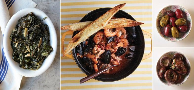 Menu: A Provincial Tuscan Supper