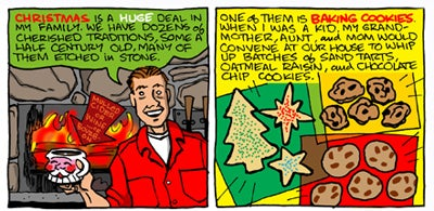 Recipe Comix: Candy-Crammer Christmas Cookies