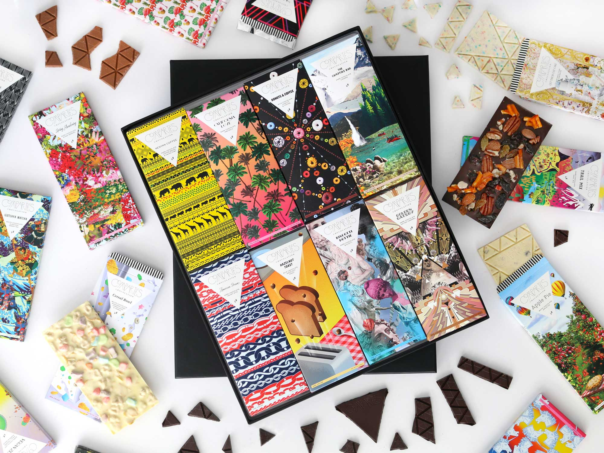The Most Beautiful Chocolate Wrappers We've Ever Seen