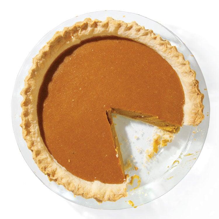 Roasted Pumpkin Pie