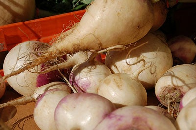 Winter Vegetables: Rutabagas