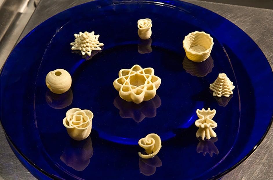 3D printed pasta