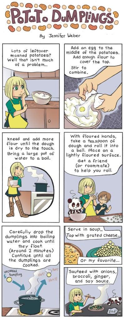 Potato Dumplings comic strip