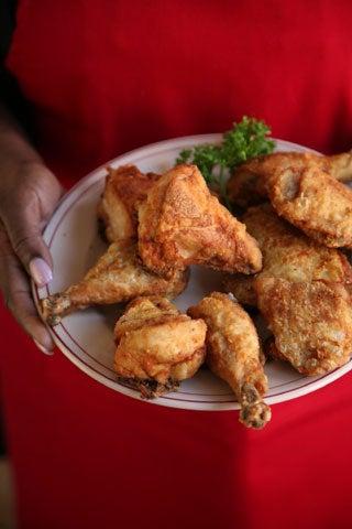 Hollyhock Hill's Fried Chicken