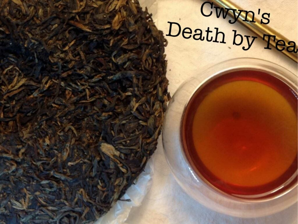 [Cwyn's Death by Tea](http://deathbytea.blogspot.com/), Carie Novitzke