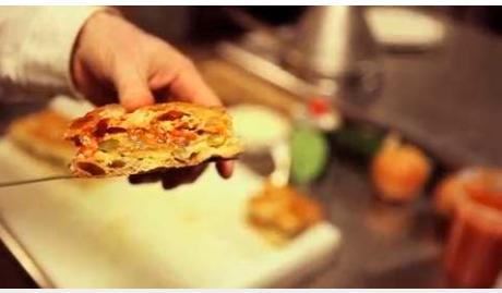 Frankies Spuntino's Zucchini and Pasta Sandwich