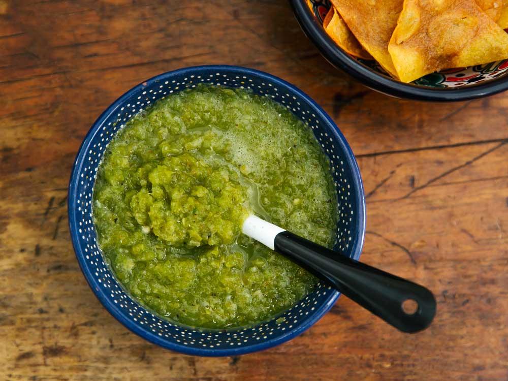 Salsa Macha Verde from Veracuz