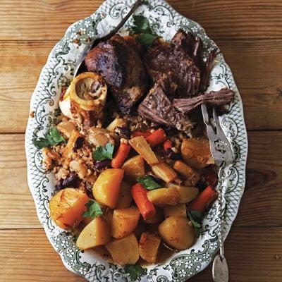 Jewish Beef Stew (Cholent)