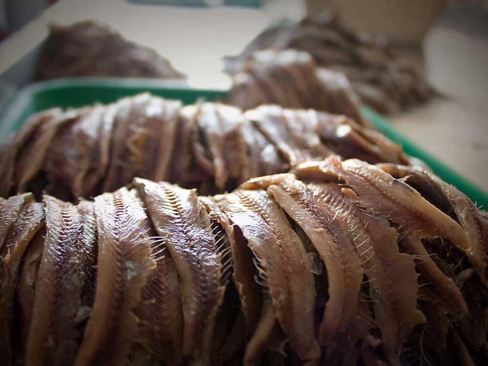 Acquapazza anchovies