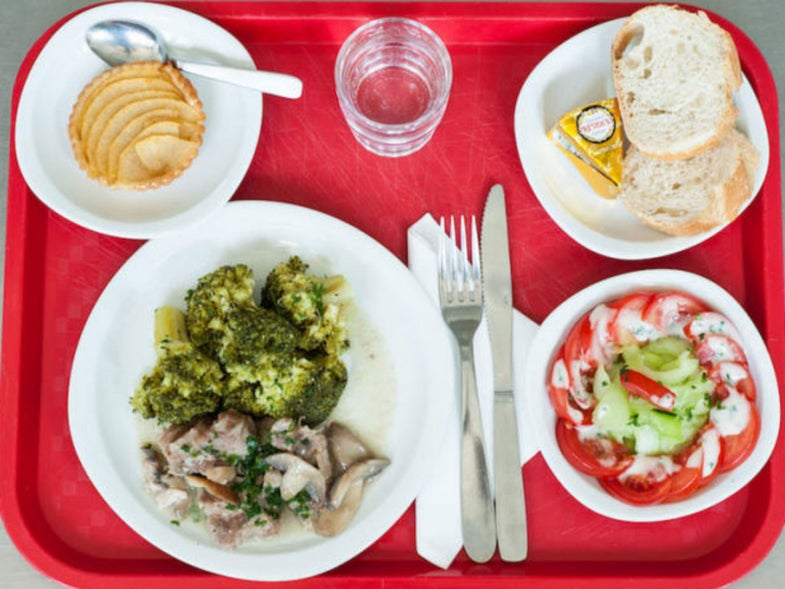 What Kids Eat for School Lunch Around the World