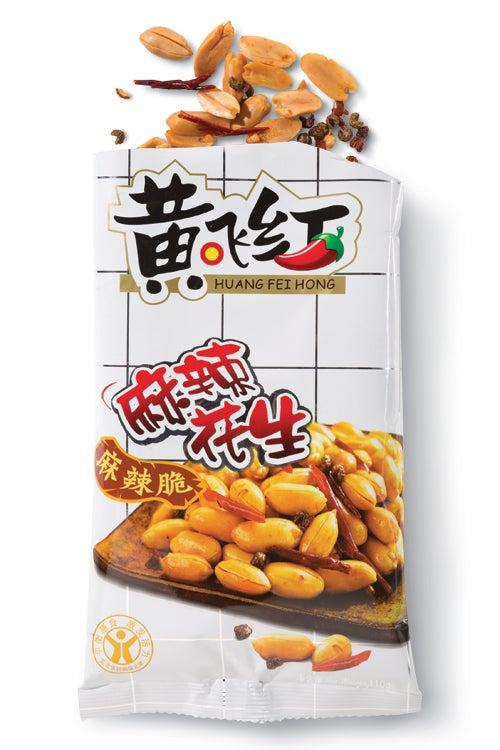 Huang Fei Hong Spicy Peanuts