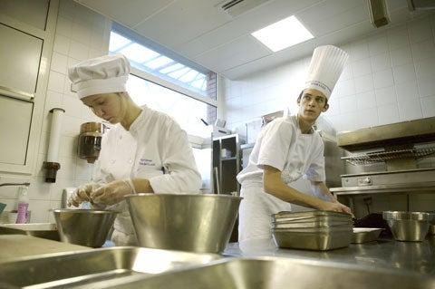 Inside a French Cooking School