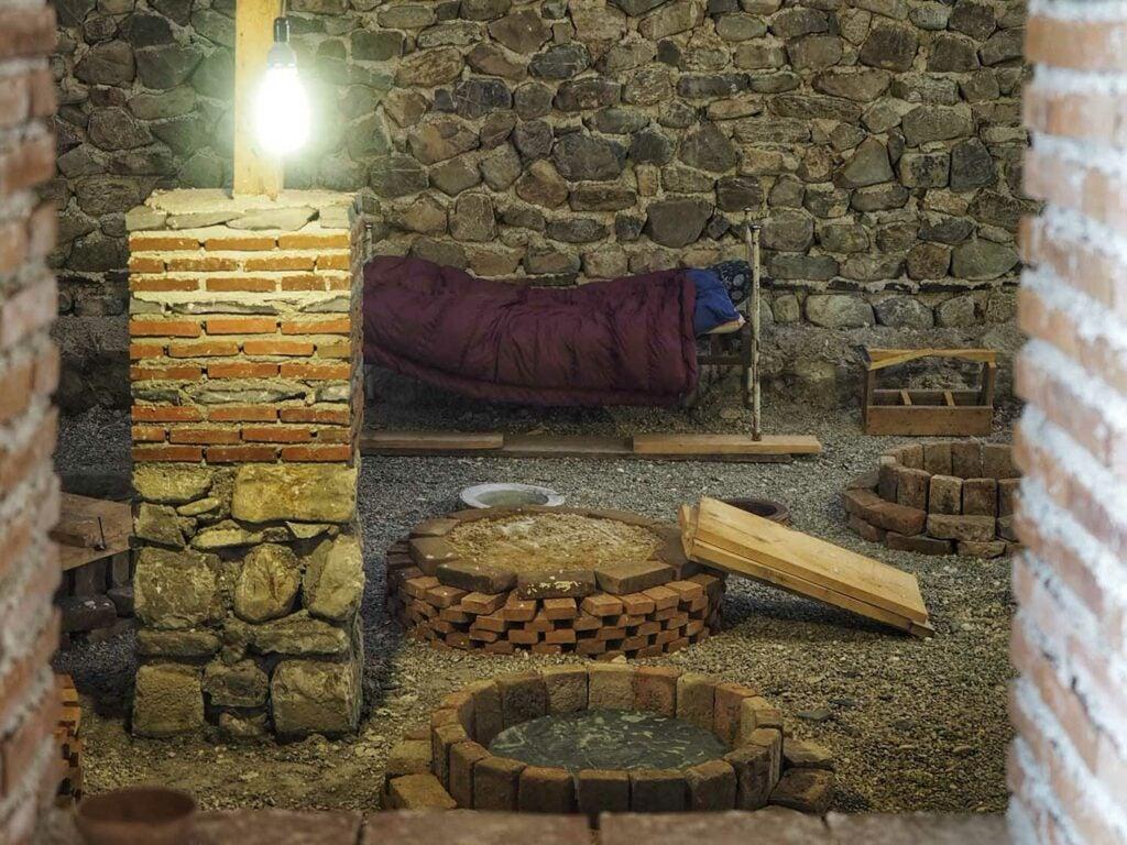 wine cellar bedroom