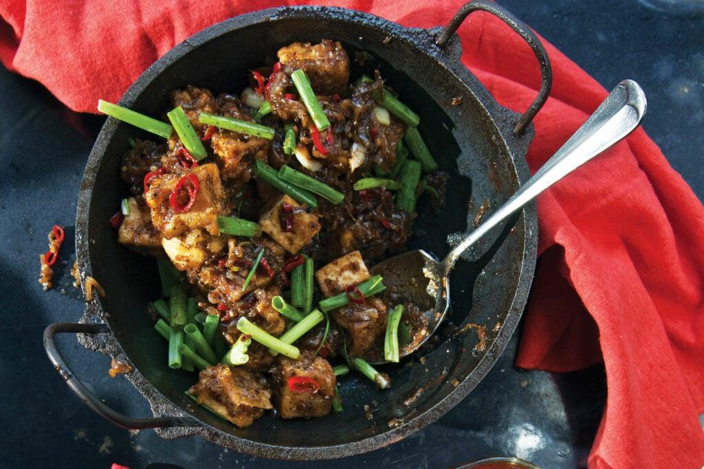 Black Pepper Tofu
