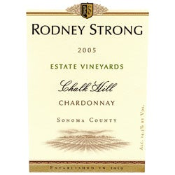 "Rodney Strong, Sonoma County (California) Chardonnay ""Chalk Hill"" 2005"