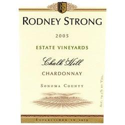 "Rodney Strong, Sonoma County (California) Chardonnay ""Chalk Hill"" 2005"