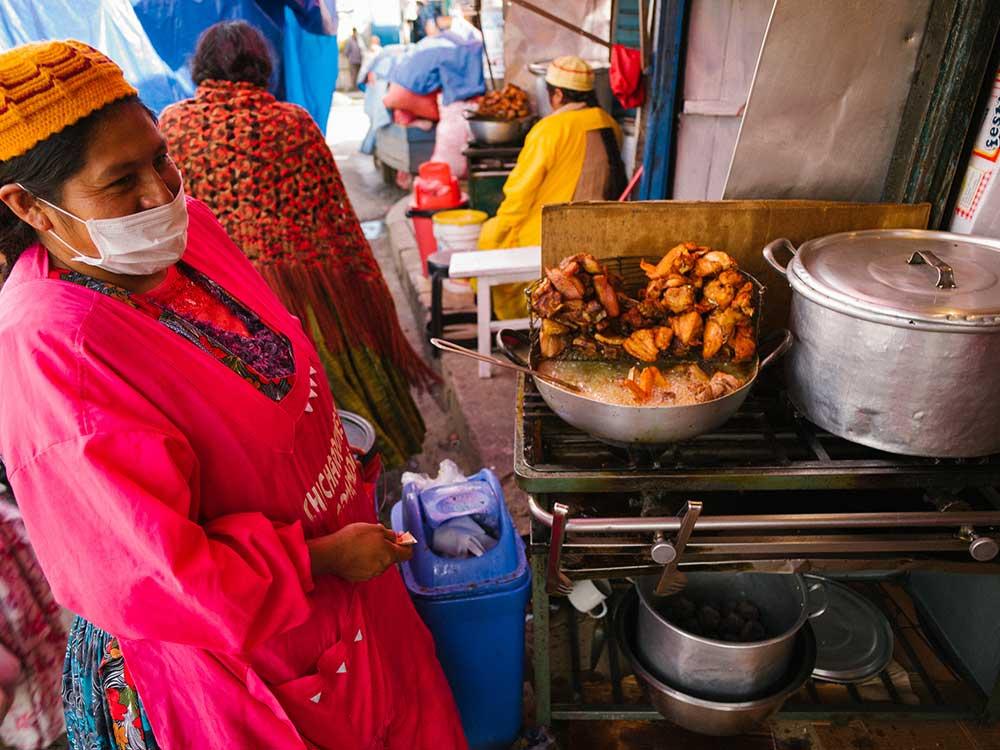 Mercado Rodriguez Fried Chicken Chef