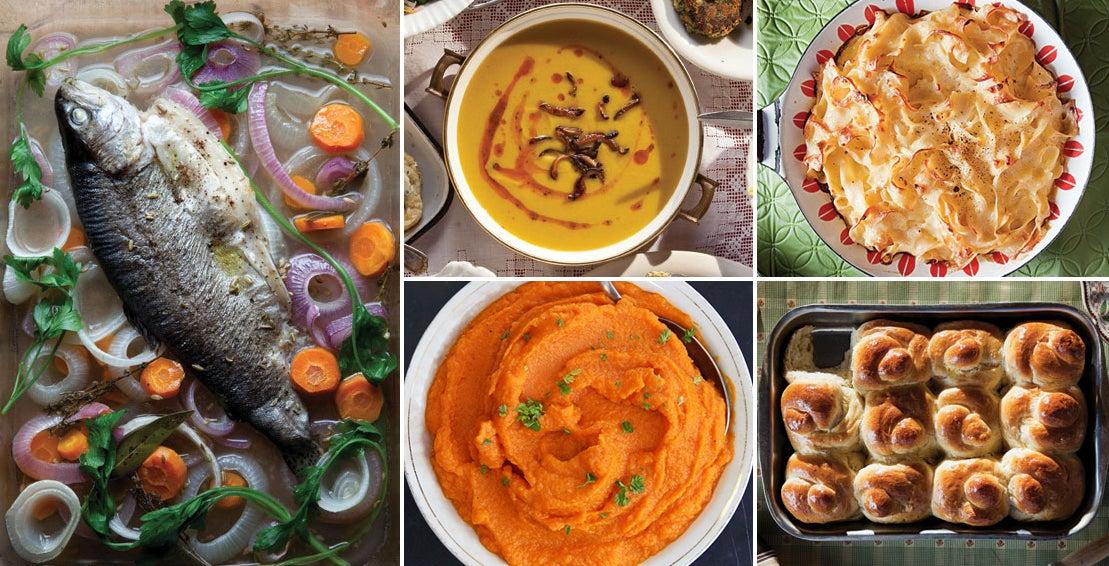 Menu: A Rosh Hashanah Feast