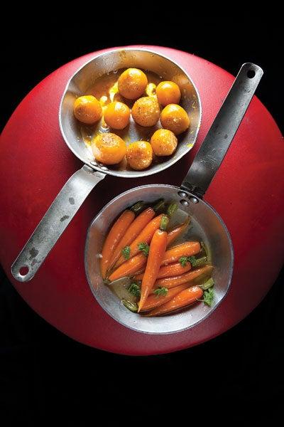 Glazing Vegetables