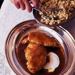 Paprika Chicken with Egg Dumplings