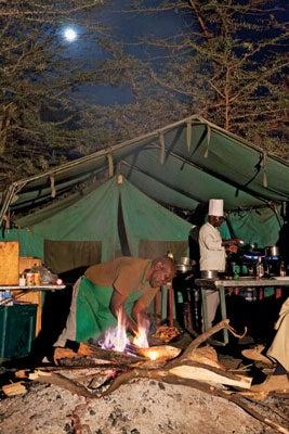 Wild Edibles: Safari Cooking