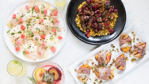 An Elegant, Fruit-Forward Menu that Makes the Most of Summer Produce