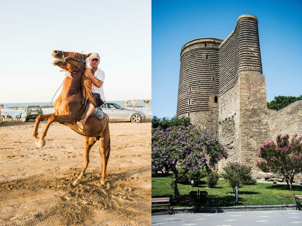 horseback riding in baku azerbaijan