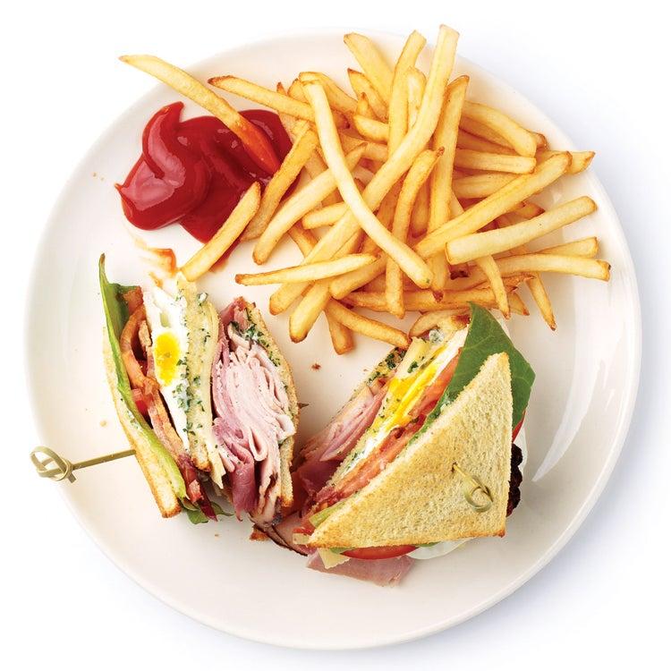 Bel-Air Club Sandwich
