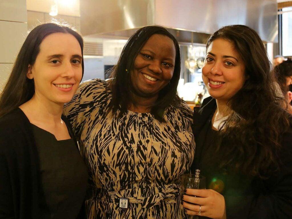 Bonnier sales team Charlotte Grima, Eshonda Caraway, and Vanessa Vazquez
