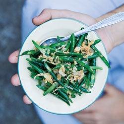 Myanmar-Style Long Bean Salad (Pei Daunt Shay Thoke)