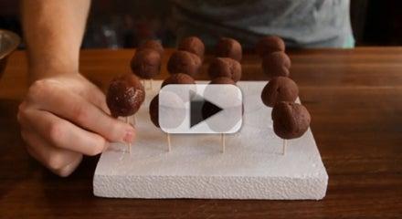 How to Dip Chocolate Truffles