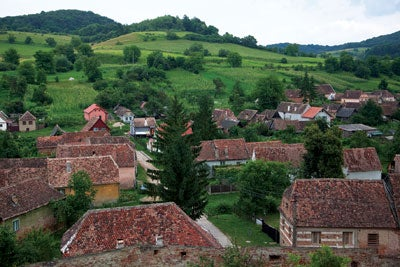 The village of Biertan