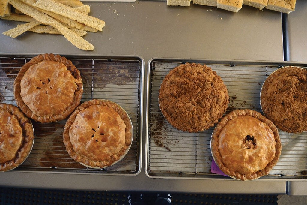 Red Truck Bakery Pies