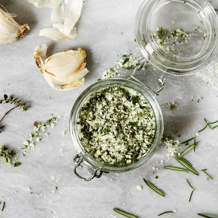 Hand-Chopped Garlic Salt