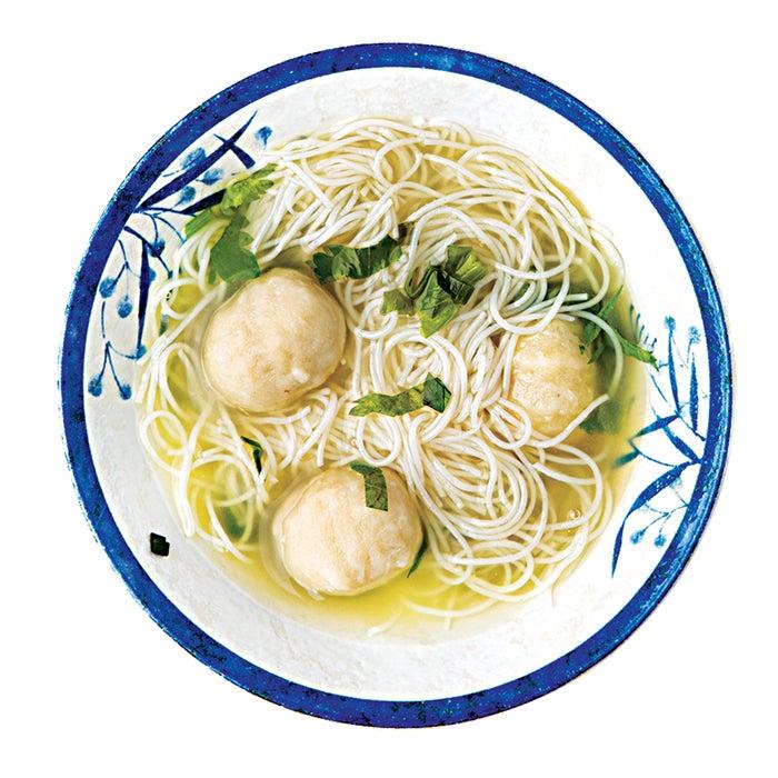 global food, travel, lunch, pizza, fish ball soup, hong kong