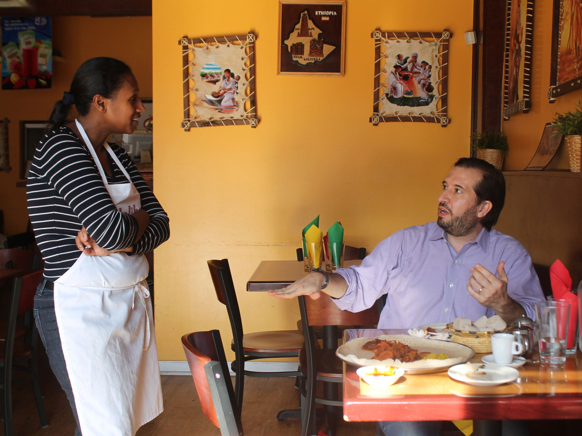 Lunch With the Food Obsessive Who's Mapped Over 1,000 New Jersey Restaurants From 40 Countries
