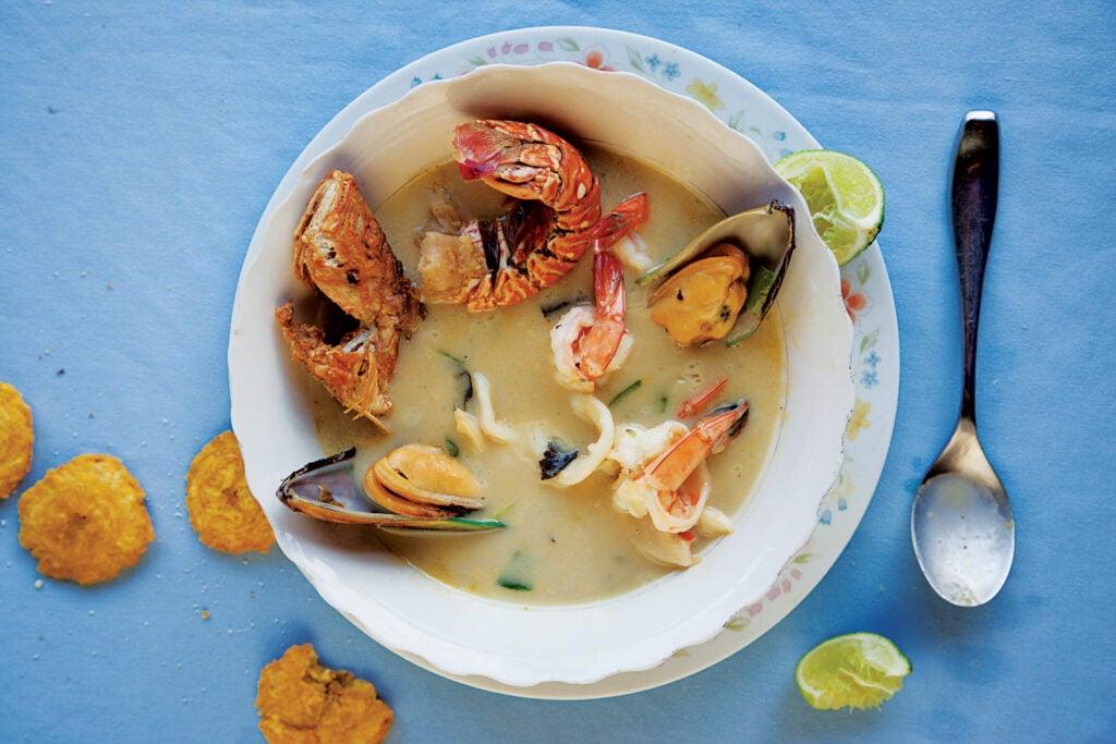 Restaurante Corozal's seafood soup
