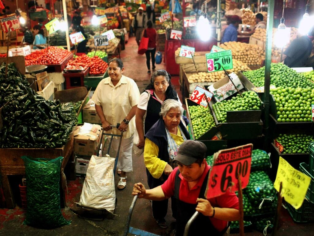 Mercado Merced Stalls