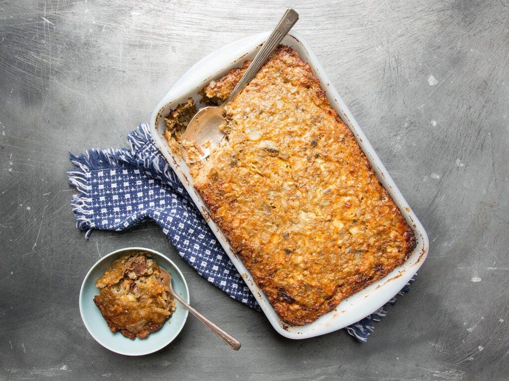 Brisket and Potato Kugel