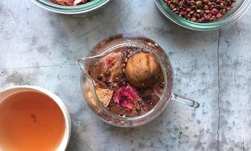 Sumac, Hibiscus, and Dried Lime Herbal Tea