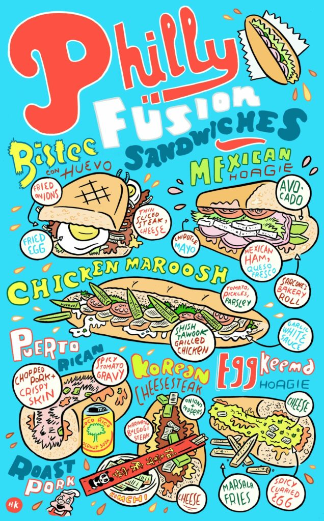 Philly Fusion Sandwiches