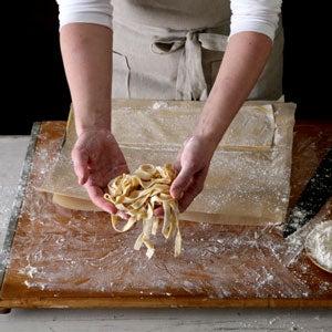 Homemade Tagliatelle