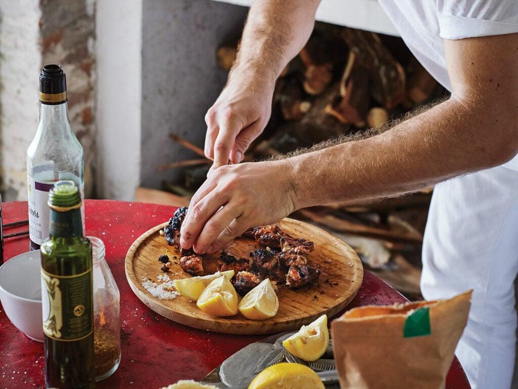 Uruguay Mattos char-grilled sweet breads