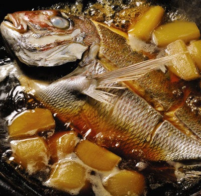 Sea Bream and Turnip Hot Pot)