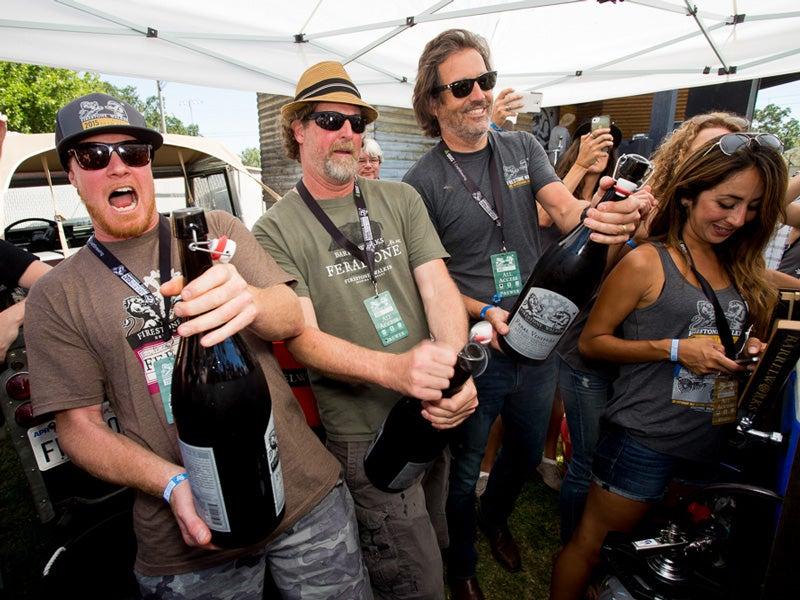 Beer geeks, rare magnums, Firestone Walker Invitational